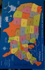 us map puzzle wood playskool us map puzzle vintage woodboard inland map puzzle of the
