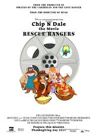 chip n dale rescue rangers chip n dale the movie rescue rangers by tomarmstrong20 on deviantart