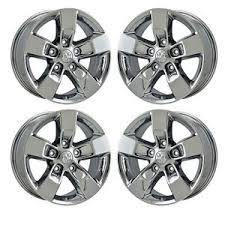 rims for 2013 dodge ram 1500 17 dodge ram 1500 pvd chrome wheels rims 2013 2016 factory oem