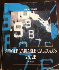 single variable calculus 2a 2b uc irvine edition james stewart
