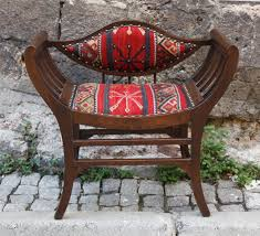 Outdoor Kilim Rug by Hizhali Rug Store Moon Chair Covered With Kilim