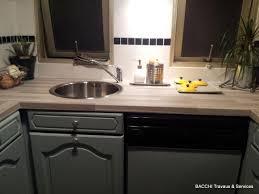 changer plan de travail cuisine moderniser une cuisine