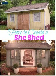 she shed plans diy how to build a shed create backyard and cave