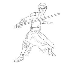 luke skywalker coloring pages print jedi knight angry birds
