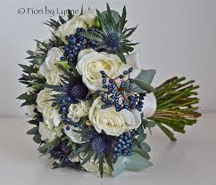 Wedding Flowers Blue Blue Flowers In Winter Wedding Flowers
