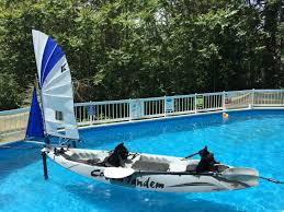 kayaksailor installation with railblaza paddlesports mounting
