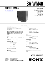 beautiful sony sa wm40 49 for resume cover letter with sony sa