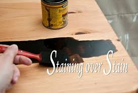 how to get hair dye stains cabinets can you stain stain the same apply when dying