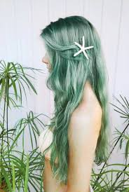 starfish hair clip hair accessory mermaid starfish jewels pastel hair grunge