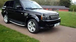 range rover sport black 2013 13 plate range rover sport hse sdv6 black edition sold