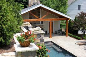 des peres swimming pool waterfall makeover poynter landscape