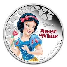 2015 niue 1 oz silver 2 disney princess snow white new zealand