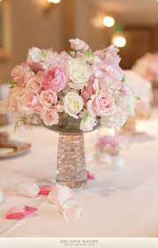 White Roses Centerpiece by 25 Best Pink Flower Centerpieces Ideas On Pinterest Tall Vases