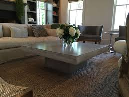square stone coffee table cement coffee table ideas cole papers design popular design
