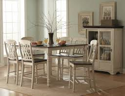 Homelegance Ohana Counter Height Dining Homelegance Ohana 7pc Counter Height Table Set In Antique White Warm