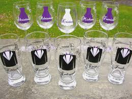 wedding gift glasses wedding gift ideas for bridesmaids and groomsmen archives