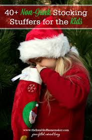 non junk stocking stuffers for kids 40 ideas to get you started