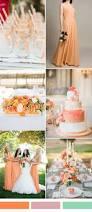 pretty peach chiffon bridesmaids dress tbqf179 orange wedding
