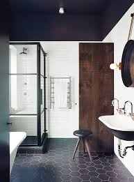 white and black bathroom ideas best 25 rustic modern bathrooms ideas on bathroom