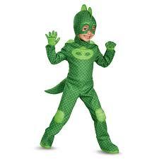 Octonaut Halloween Costume Buy Disney Junior U0027s Pj Masks Gekko Deluxe Toddler Costume