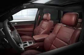 white jeep red interior press release jeep grand cherokee trackhawk the most powerful
