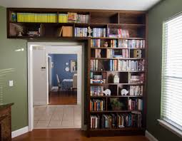 Built In Wall Shelves by I Built A Built In Desk And Bookshelf To Convert My Office Into A