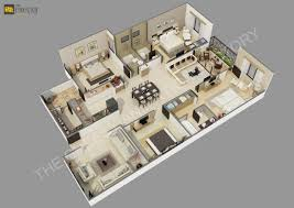 Residential Building Floor Plans by The Cheesy Animation Studio 2d And 3d Floor Plan Rendering And