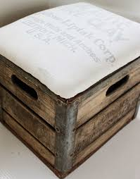 Rolling Ottoman With Storage by Put Your Feet Up With This Diy Ottoman Rustic U0026 Pretty Made