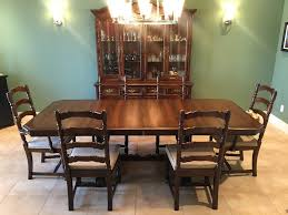 antique dining room sets vintage antique dining room table chairs and buffet set dining
