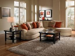 Living Room Without Coffee Table by Furniture Curvy Leather Sofa With Unique Furniture Style For