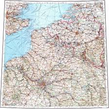 Brussels Germany Map Download Topographic Map In Area Of Paris Brussels Lille