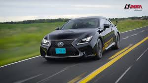 lexus rcf sedan from road to racing lexus rc f youtube