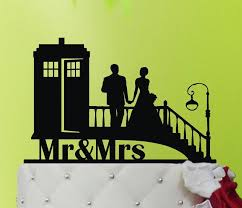 dr who wedding cake topper wedding cake topper tardis tardis wedding cake topper doctor