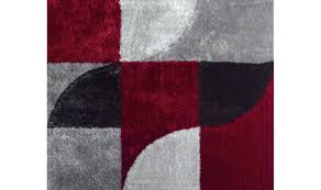 Red White Black Rug Area Rugs Magnificent Awesome Black And Red Contemporary Area
