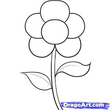 learn how to draw an easy flower flowers pop culture free step