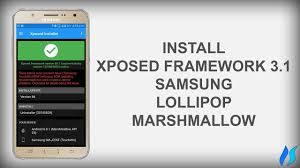 xposed installer 3 0 apk how to install xposed framework 3 1 on samsung j7 or any samsung