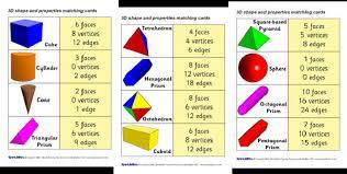 3 Dimensional Shapes Worksheets Unit 9 3 D Shapes 2 Eso Bilingual Maths