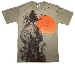 amazon com the hangover human tree men u0027s t shirt by junk food