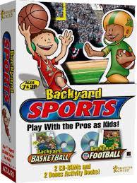 Download Backyard Football Amazon Com Backyard Sports Backyard Basketball And Backyard