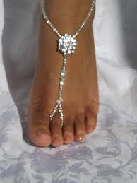 wedding barefoot sandals 1 pair swarovski bridal jewelry barefoot sandals wedding foot