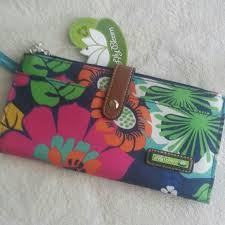 bloom wallet 100 bloom handbags nwt bloom travel wallet floral