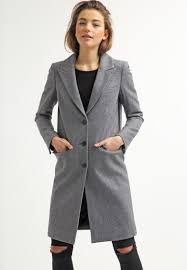 selected femme selected femme women coats sfconstract classic coat light grey