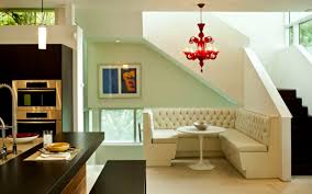 interior ivory scheme livingg room and dining room interior