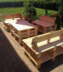 salon de jardin 52 idées pour fabriquer votre meuble de jardin en palette