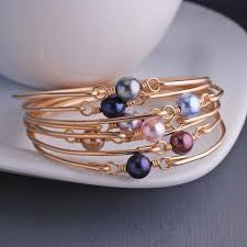 gold silver pearl bracelet images Swarovski pearl bracelets gold rose gold silver love georgie jpg