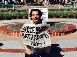 students hold u0027shit in u0027 to demand more gender neutral bathrooms