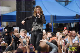 shania twain performs her hits during u0027today show u0027 concert photo