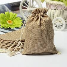 burlap gift bags faux burlap hessian mini bags rustic wedding favor gift bag at
