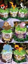 Safari Baby Shower Centerpiece by I Did These As Centerpieces With Mason Jars Instead Of Diapers And