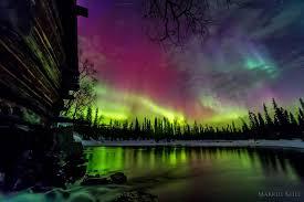 aurora borealis northern lights what causes the aurora borealis